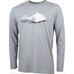 High Colorado Wallis 5 Camiseta Manga Larga Hombre, grey melange